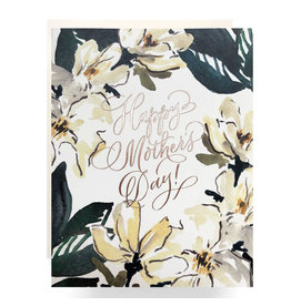 Antiquaria Magnolia Mother's Day A2 Greeting Card