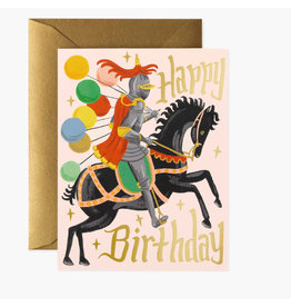Rifle Paper Co. Knight Birthday A2 Notecard
