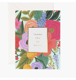 Rifle Paper Co. Garden Party Thank You Box Set of 8 Notecards