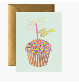 Rifle Paper Co. Cupcake Birthday A2 Notecard
