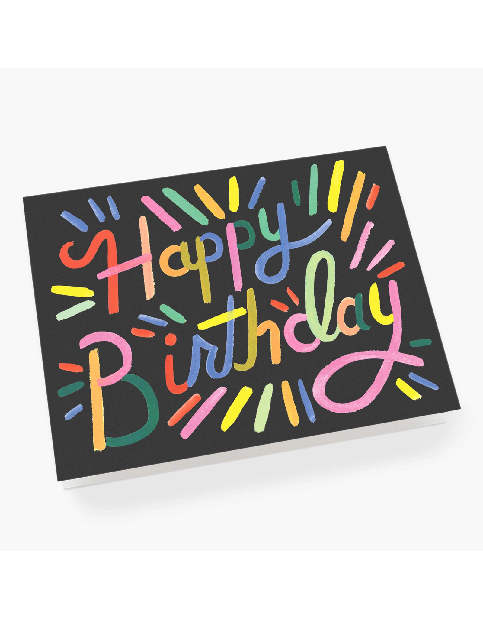 Rifle Paper Co. Fireworks Birthday A2 Notecard