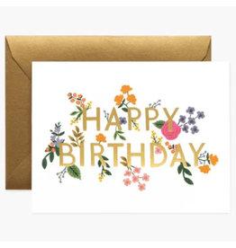 Rifle Paper Co. Wildwood Birthday A2 Notecard