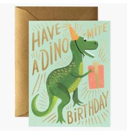 Rifle Paper Co. Dino-Mite Birthday A2 Notecard