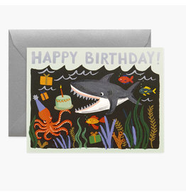 Rifle Paper Co. Shark Birthday A2 Notecard