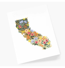 Rifle Paper Co. California Wildflowers A2 Everyday Notecard