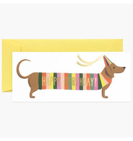 Rifle Paper Co. Hot Dog Birthday No.10 Notecard