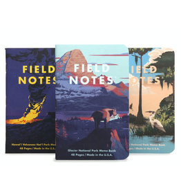 Field Notes Brand National Parks Series F 3-Pack