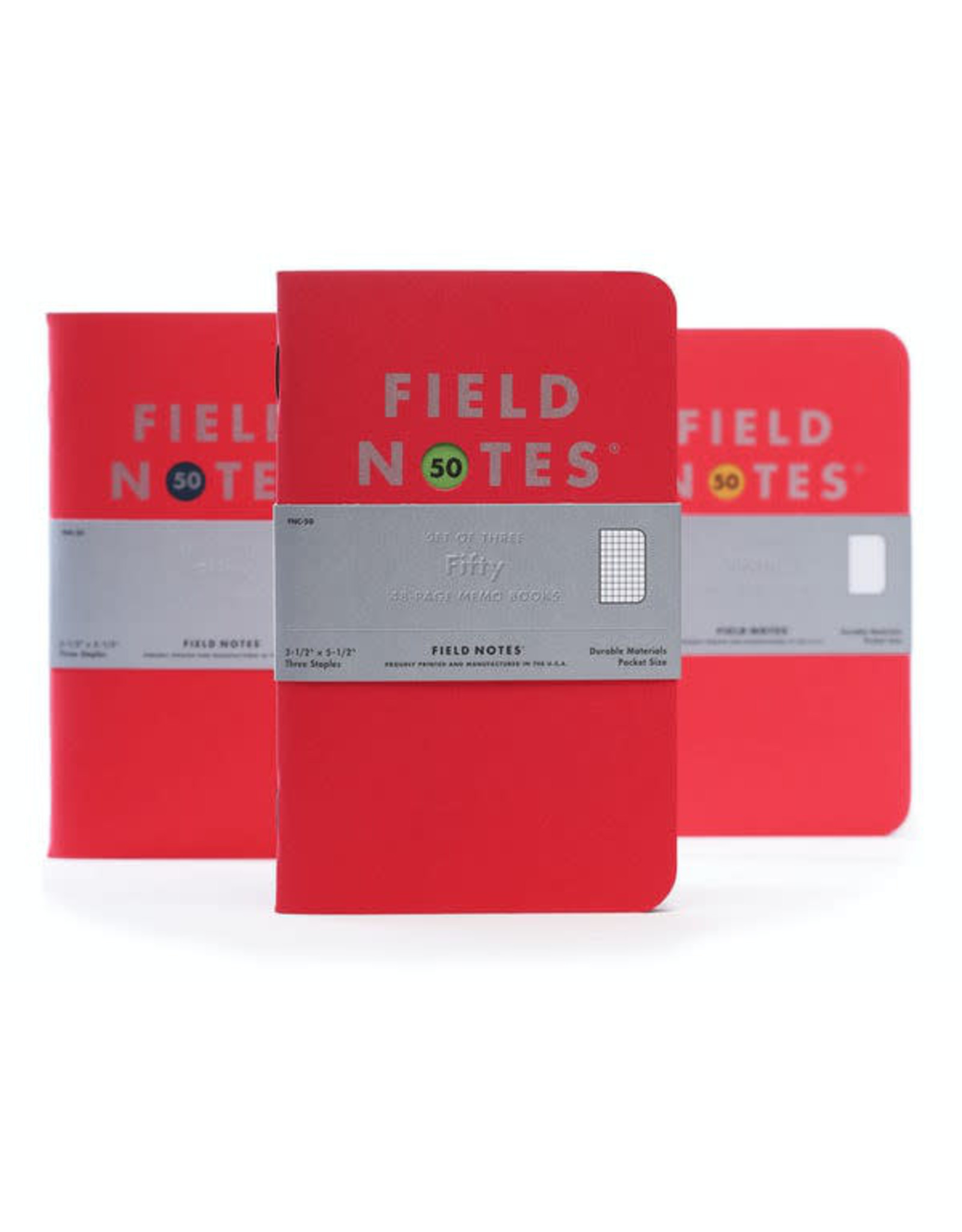 Field Notes Brand Fifty 3-Pack Limited Edition