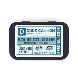 Duke Cannon Supply Co. Light Musk & Neroli Solid Cologne