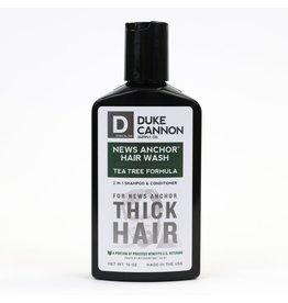 Duke Cannon Supply Co. News Anchor Tea Tree 2-in-1 Hair Wash
