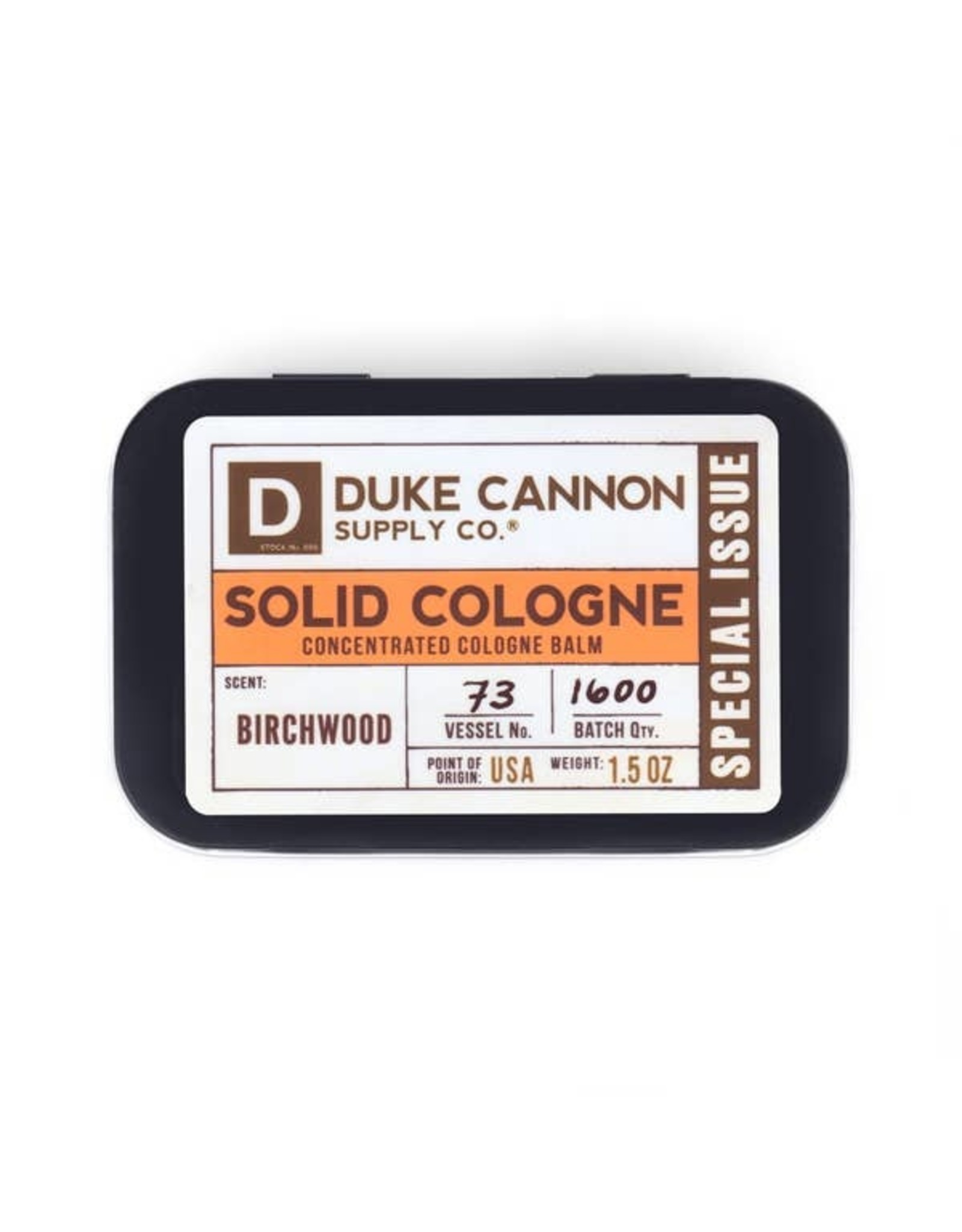 Duke Cannon Supply Co. Birchwood Solid Cologne