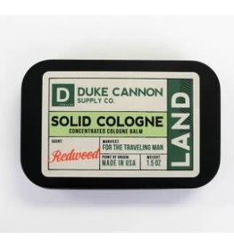 Duke Cannon Supply Co. Land (Redwood) Solid Cologne
