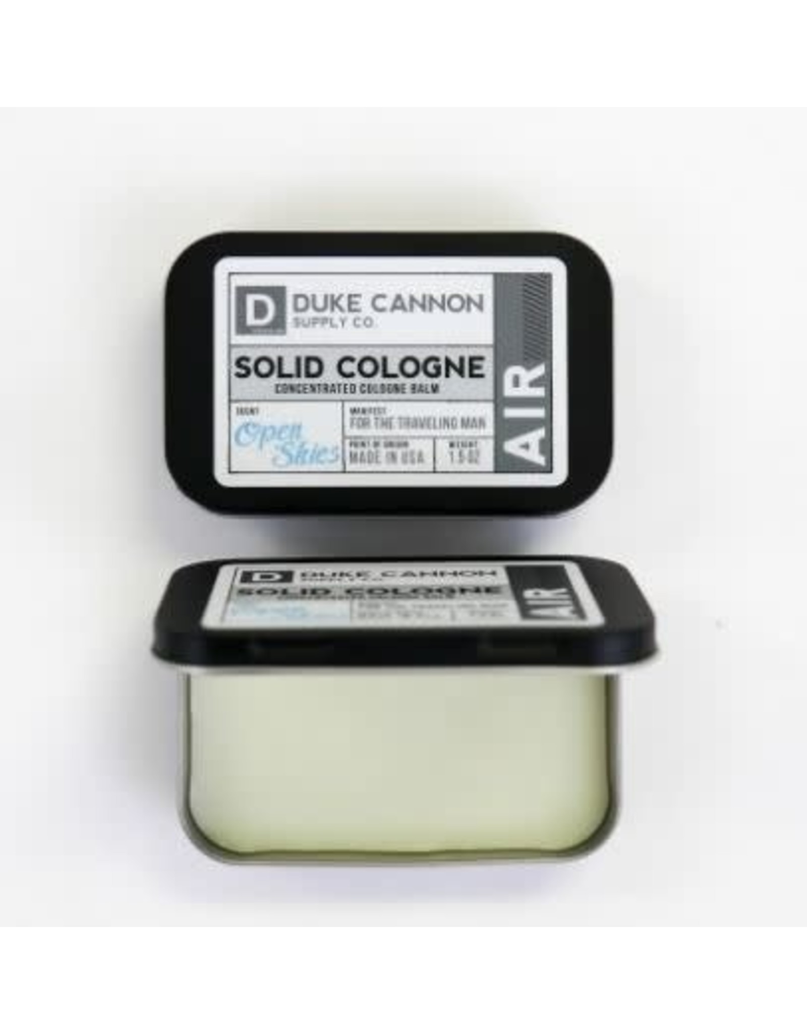 Duke Cannon Supply Co. Air (Mountain Air) Solid Cologne