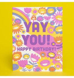 Hello!Lucky Yay You A2 Notecard