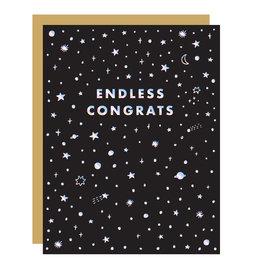 Hello!Lucky Endless Congrats A2 Notecard