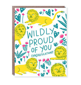 Hello!Lucky Wildly Proud A2 Notecard