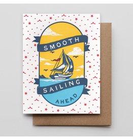 Hammerpress Smooth Sailing A2 Notecard