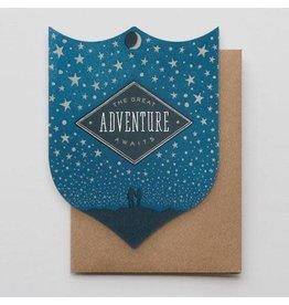 Hammerpress Great Adventure Badge Notecard