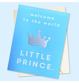 J. Falkner Cards Baby Prince A2 Card
