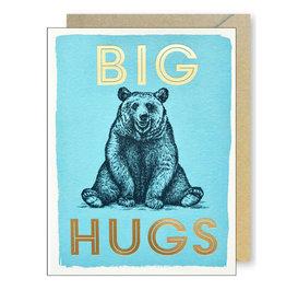 J. Falkner Cards Big Hugs Bear A2 Card