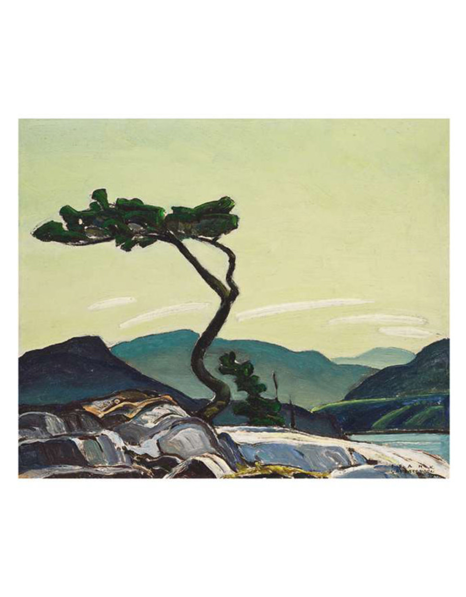Pomegranate Franklin Carmichael: Twisted Pine Postcard