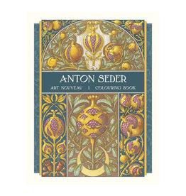 Pomegranate Anton Seder: Art Nouveau Coloring Book