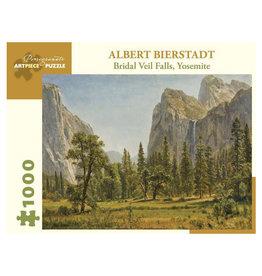 Pomegranate Albert Bierstadt: Bridal Veil Falls, Yosemite 1000-Piece Jigsaw Puzzle