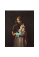 Pomegranate William Morris Hunt: Girl with Hat Everyday Notecard
