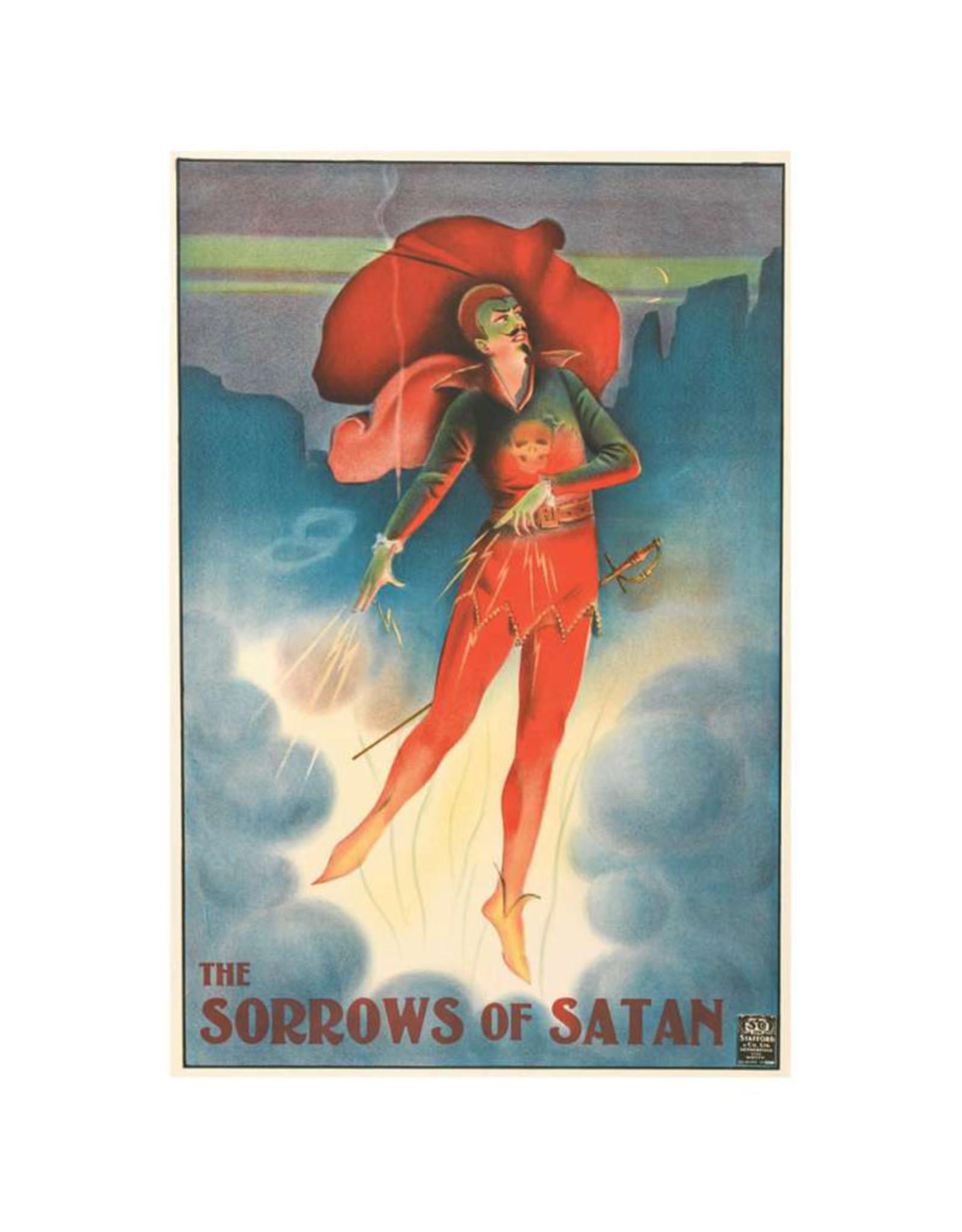 Pomegranate The Sorrows of Satan Postcard
