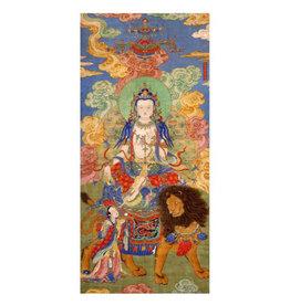 Pomegranate Mahasthamaprapta Bodhisattva Everyday Notecard