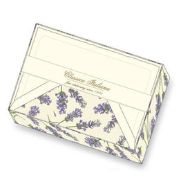Rossi Box 10 Flat Notecards Lavender