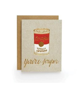 Wild Ink Press Souper   Sweet & Something Card A2