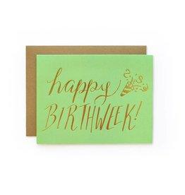 Wild Ink Press Happy Birthweek | Happy Cards A2