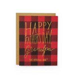 Wild Ink Press Grandpa Original Dad | Father's Day Notecard A2