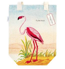 Cavallini Papers & Co. Flamingo Tote Bag