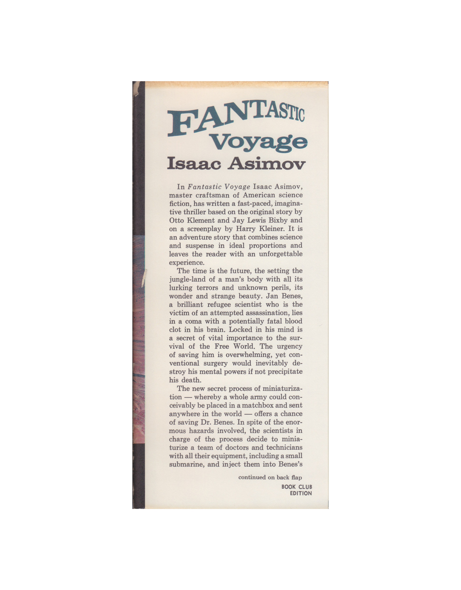 Houghton Mifflin Co. Fantastic Voyage