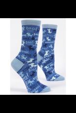 Blue Q Dogs! Women's Crew Socks