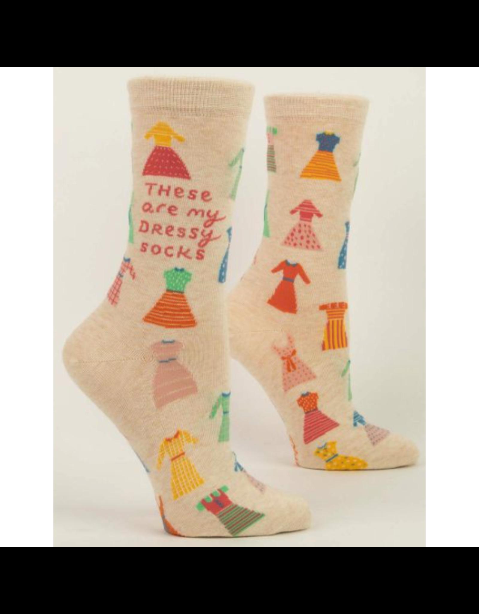Blue Q These Are My Dressy Socks Women's Crew Socks
