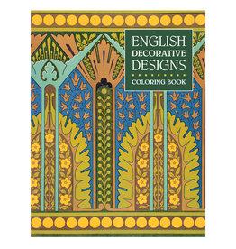 Pomegranate English Decorative Designs Coloring Book