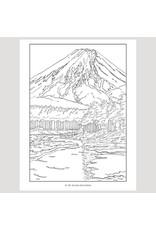 Pomegranate Kawase Hasui Coloring Book
