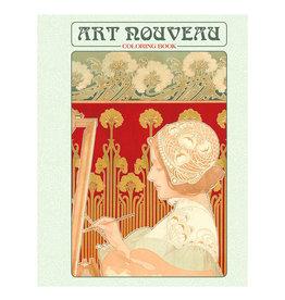 Pomegranate Art Nouveau Coloring Book