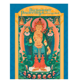 Pomegranate Buddhist Paintings Coloring Book