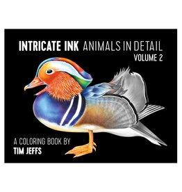 Pomegranate Intricate Ink: Animals in Detail Volume 2 Coloring Book