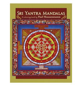 Pomegranate Sri Yantra Mandalas: A Coloring Book by Paul Heussenstamm