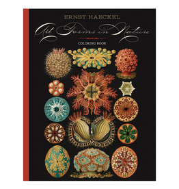 Pomegranate Ernst Haeckel: Art Forms in Nature Coloring Book