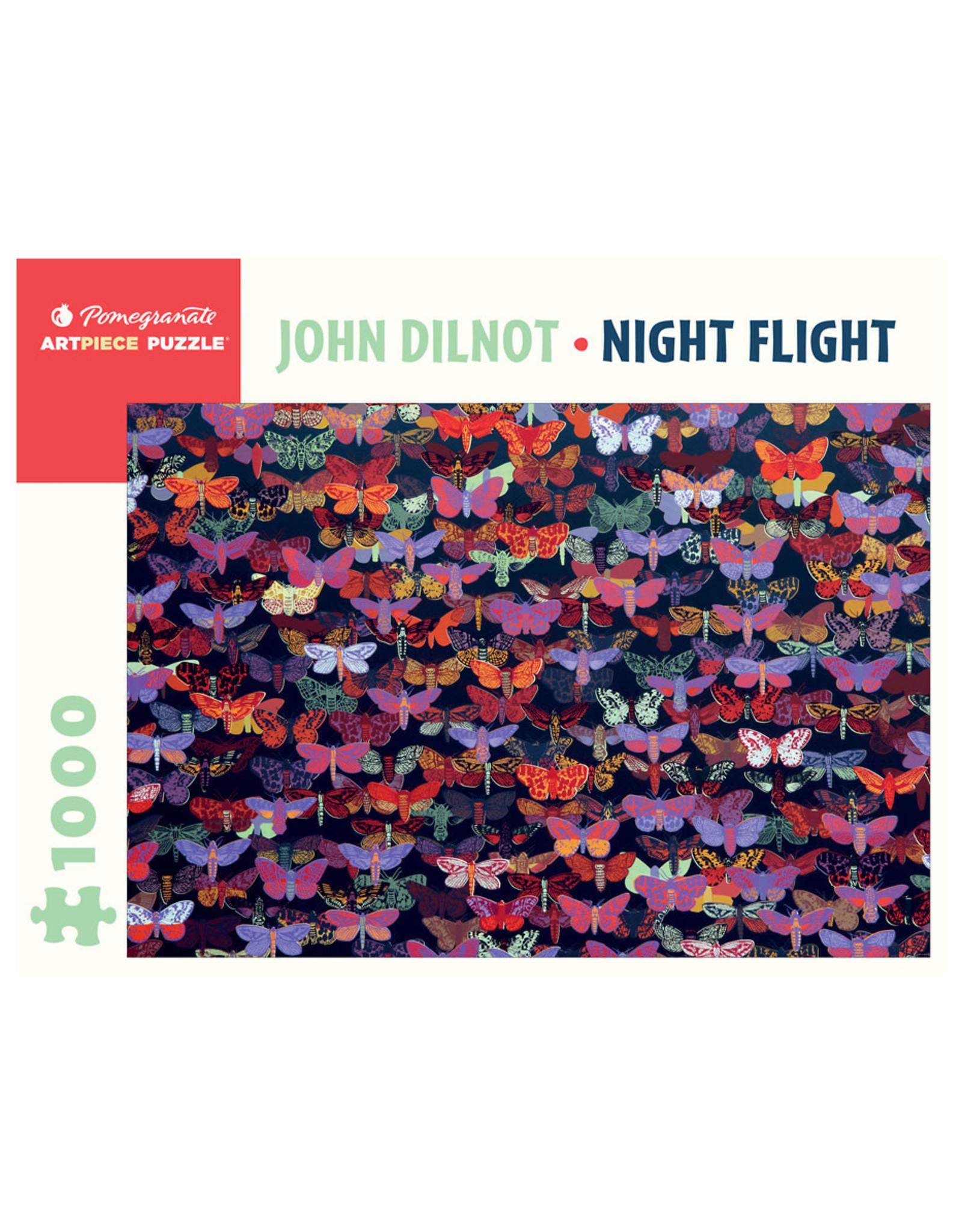 Pomegranate John Dilnot: Night Flight 1000-Piece Jigsaw Puzzle