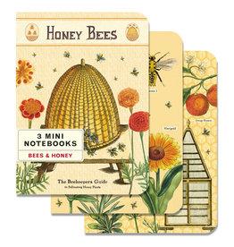 Cavallini Papers & Co. Bees & Honey 3 Mini Notebooks