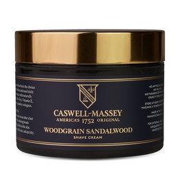 Caswell-Massey Apothecary Heritage Sandalwood Shave Cream in Jar | 8oz
