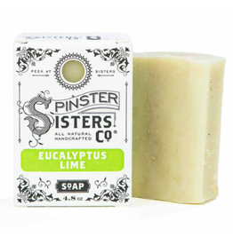 Spinster Sisters Eucalyptus Lime Signature Bath Soap