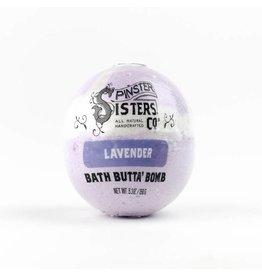 Spinster Sisters Lavender Bath Butta' Bomb